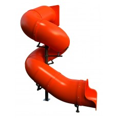 12 feet high 720 Degree Tube Slide