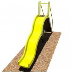 6 feet high Bump Wave Slide