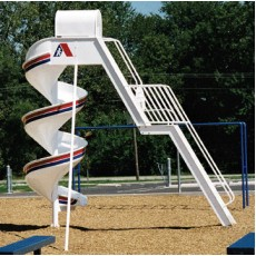 12 feet high Senior Spiral Slide