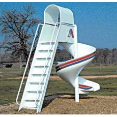 7 feet high Junior Spiral Slide