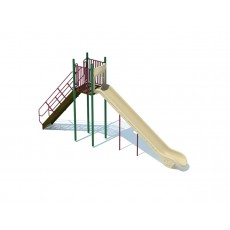 8 Feet High Single Chute Slide