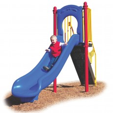 4 feet high Straight Slide