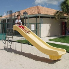 4 feet high Super Slide