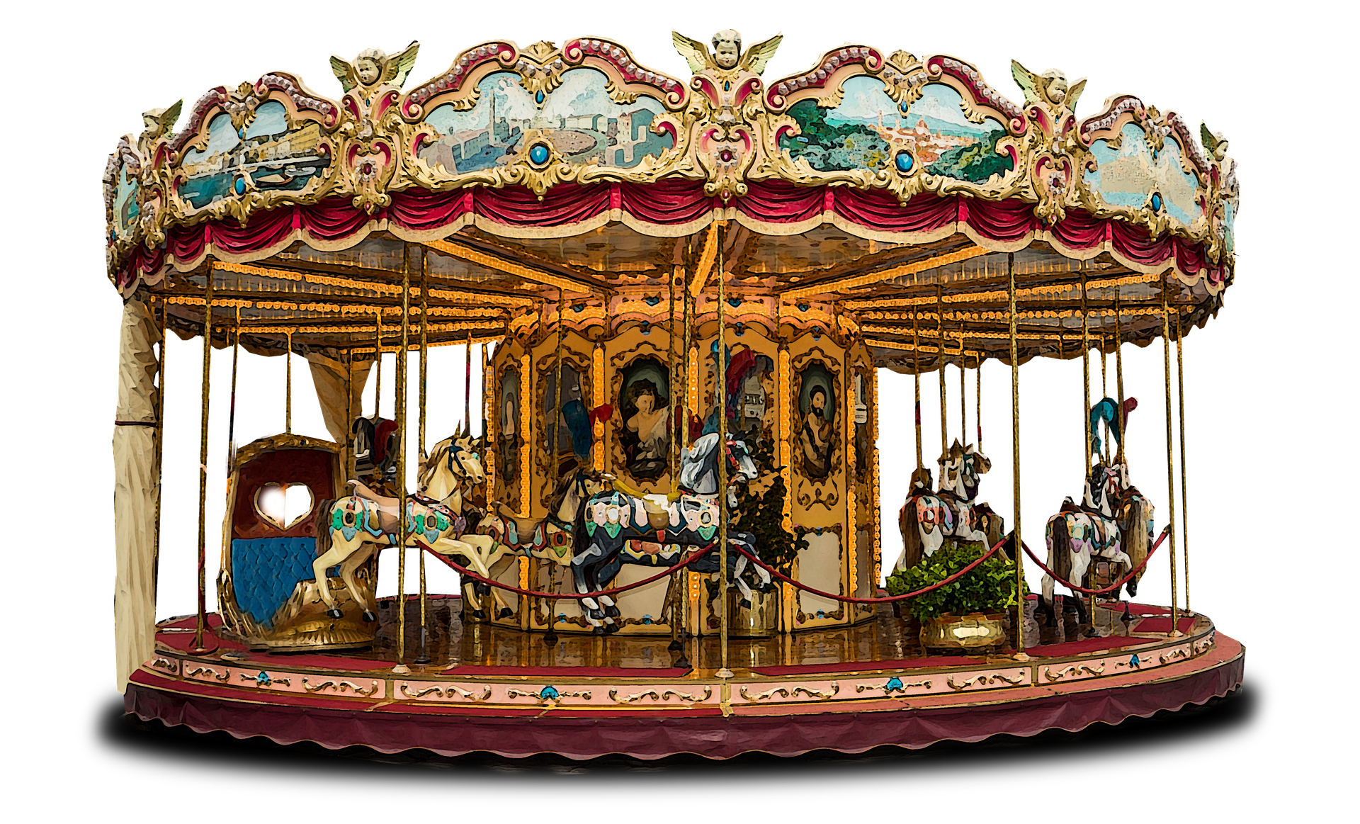 The History of Merry-Go-Rounds